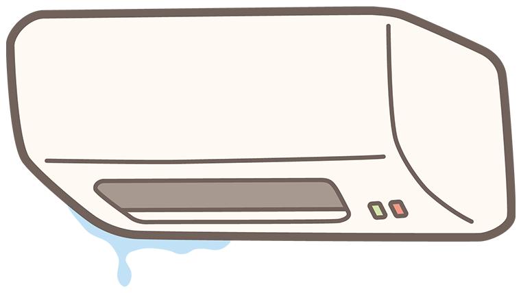 修理に出す前に!エアコンの水漏れを自分で対処できるかも?